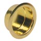 Ives Brass, Polished Flush Pull Product Number: 218B3
